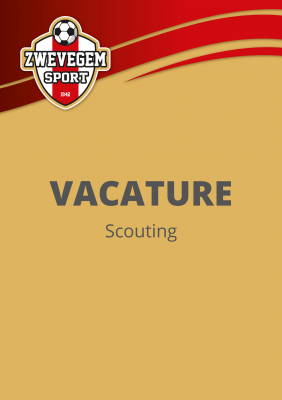 Vacature Scouting